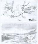 Twee landschappen