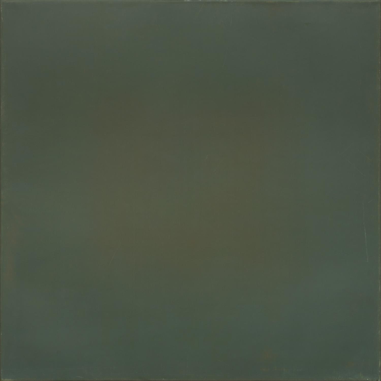 Titel onbekend (SQ-10), olieverf op linnen, 100 x 100 cm, by Nico Bakker