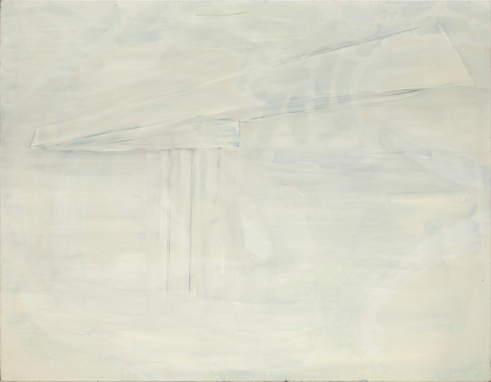 Titel onbekend (LO-08), olieverf op linnen, 180 x 140 cm, Nico Bakker