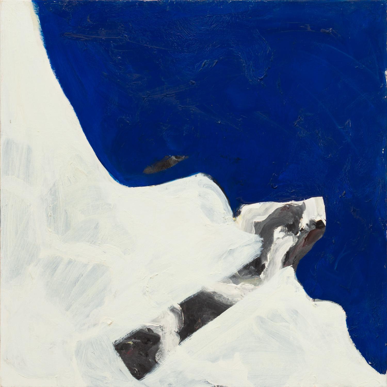 Gauloises 1, olieverf op linnen, 85 x 85 cm, Nico Bakker